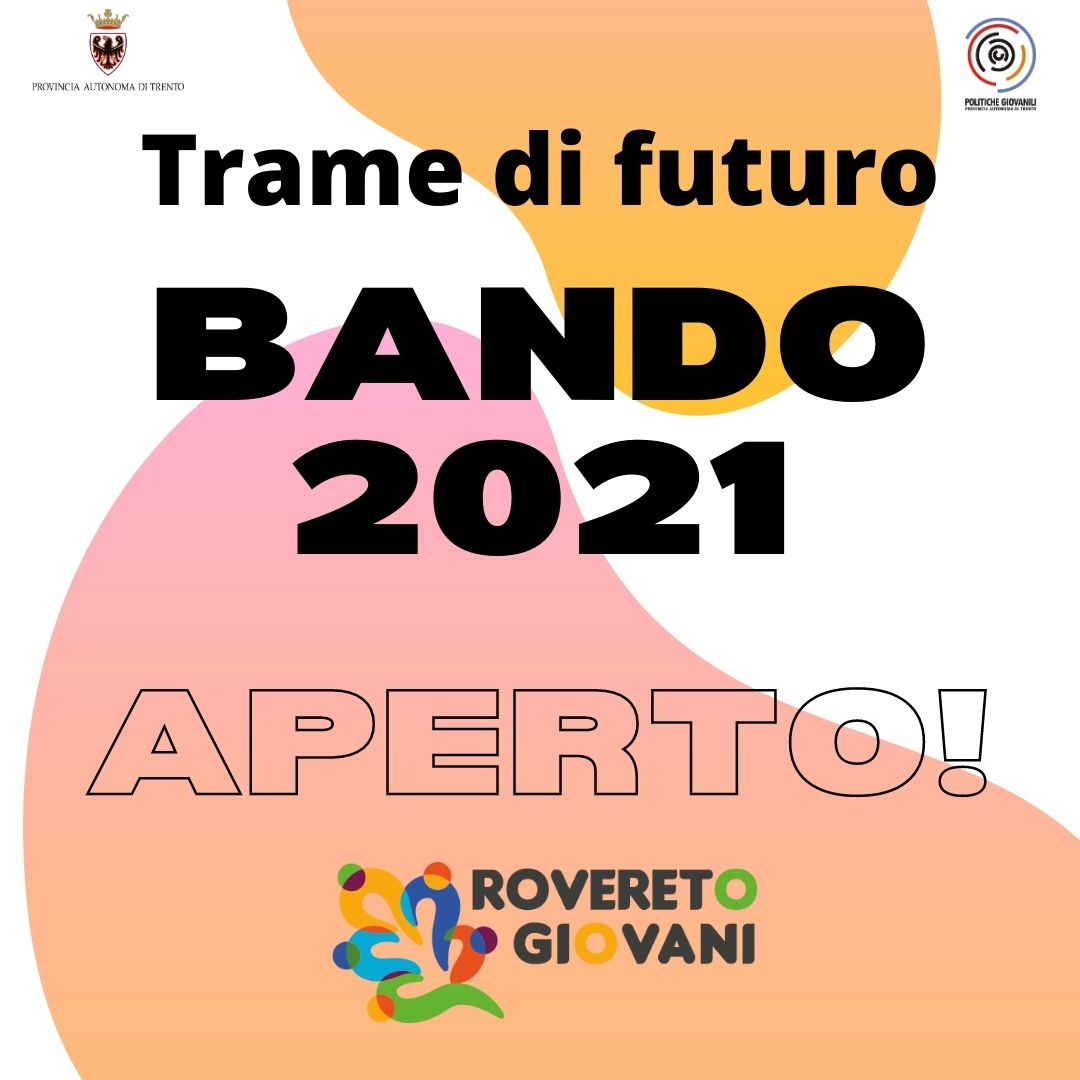 APERTO IL BANDO 2021 DEL PIANO GIOVANI